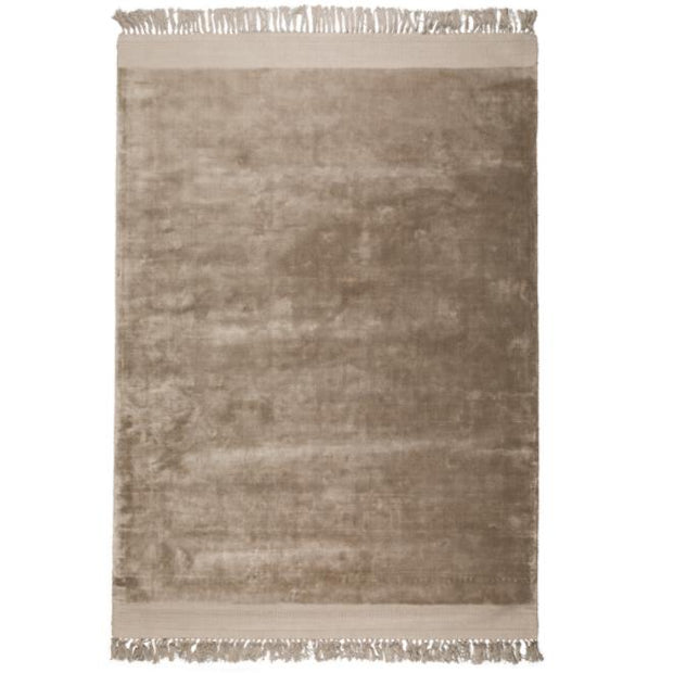 【OUTLET】Soft Plush Plain Rug - Sand 170 x 240