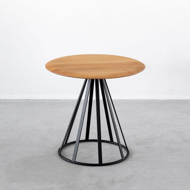 Natural Stylish solid alder side table