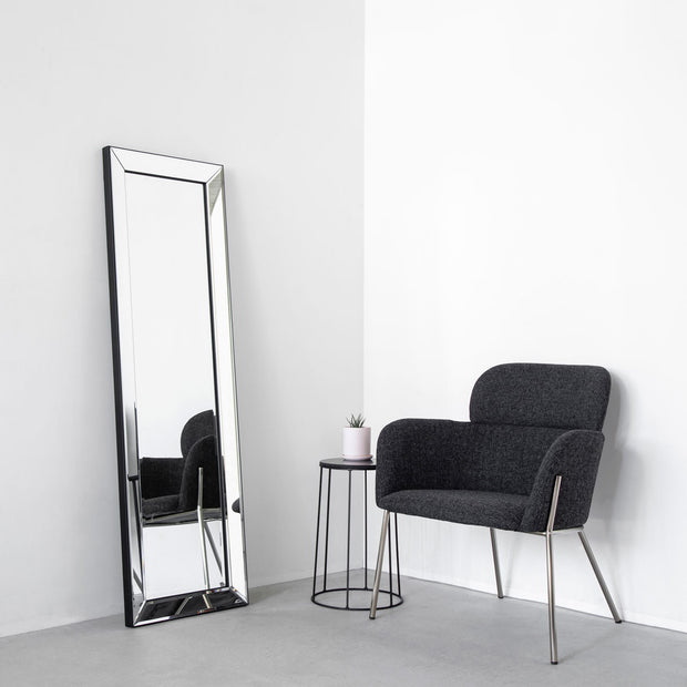 Mirrored Wall Mirror - Simple 40 × 130