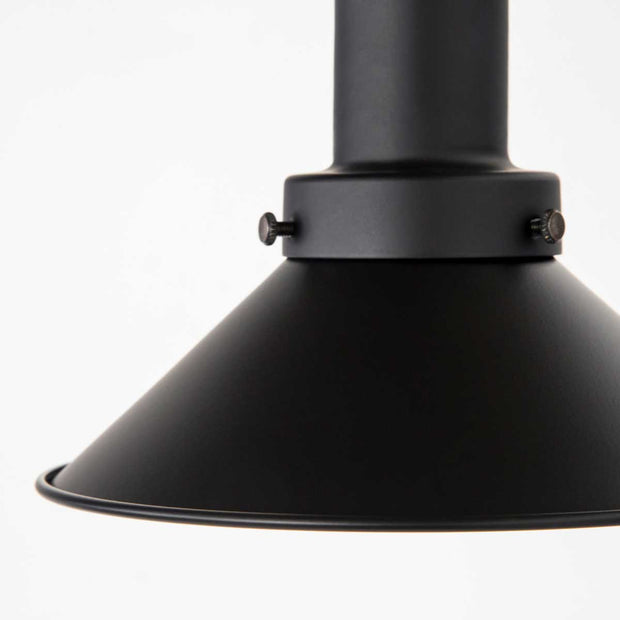 Matte Black Mini Shade Pendant light