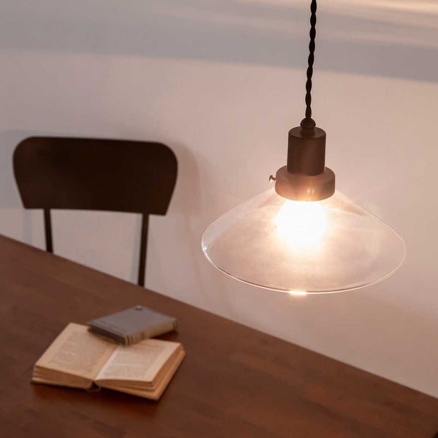 Handmade Glass Mini Shade Pendant light