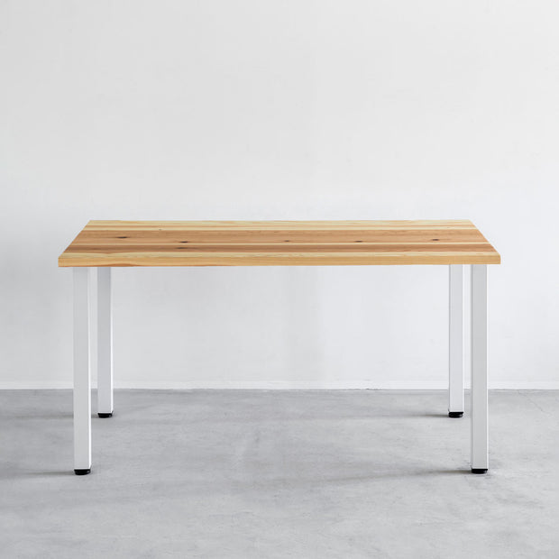 THE TABLE / 長良杉 × White Steel