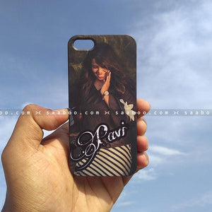 Case - saaboo - Mobile Case Photo and Name Print