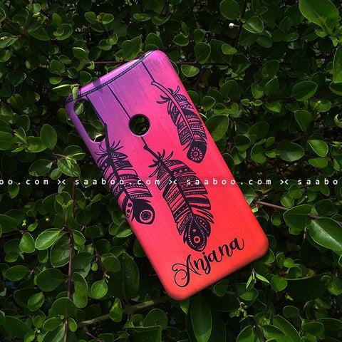 Case - saaboo - Mobile Case Dream Catcher Name Print