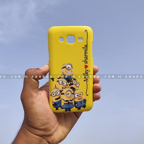 Case - saaboo - Minion Case with Name Print