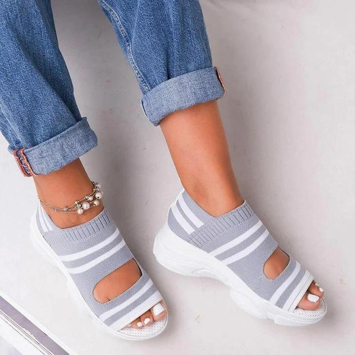 Dr. CARE™ - PREMIUM Casual Women Wedge Comfy Orthopedic Open Toe Sandals