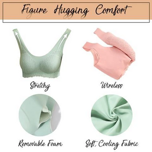PREMIUM 5D COMFY WIRELESS CONTOUR BRA