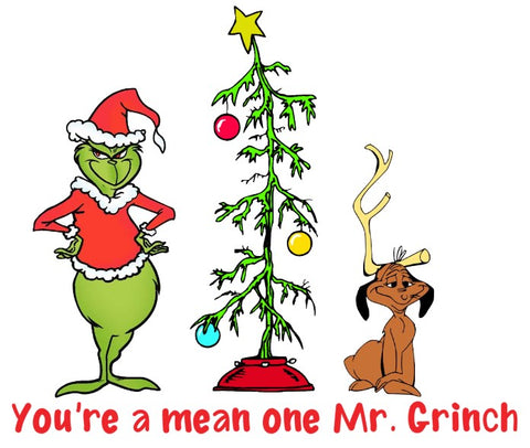 ** SPECIAL ** Mean one Grinch Watercolor Press
