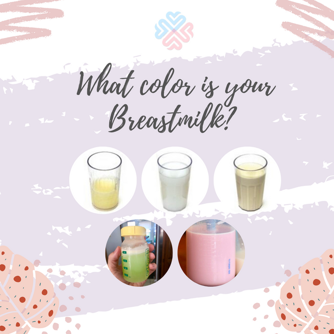 What color is your Breastmilk?