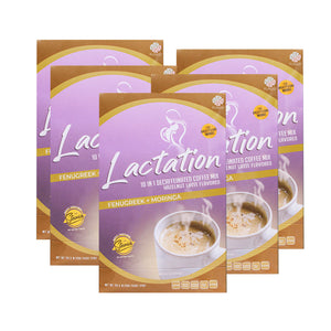 Purest Lactation Drink - Decaf Coffee Hazelnut Flavor Breastmilk Booster
