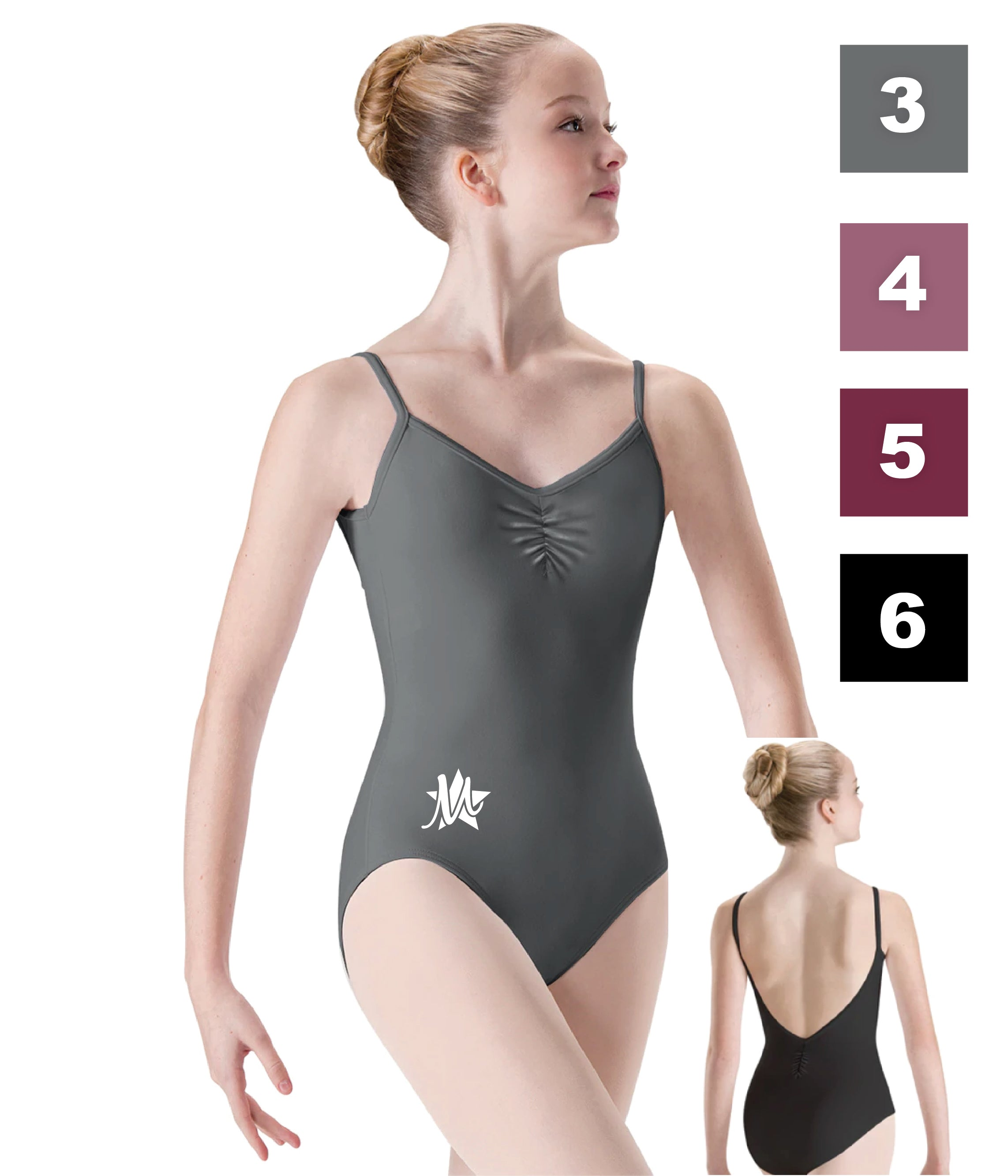 Low-Pinch-Back Leotard - 2521