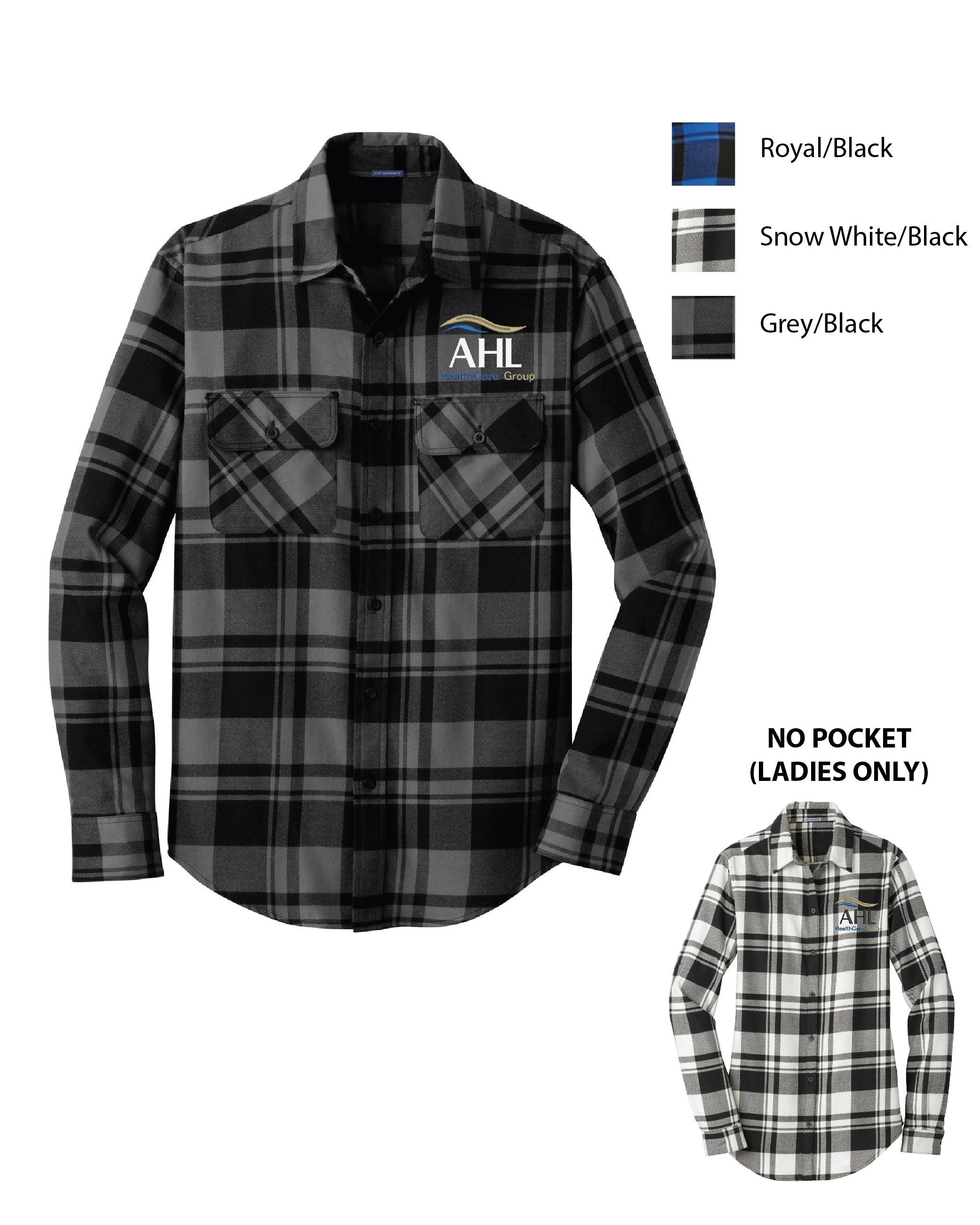 S AHL ) MENS AND WOMENS PLAID FLANNEL SHIRTS