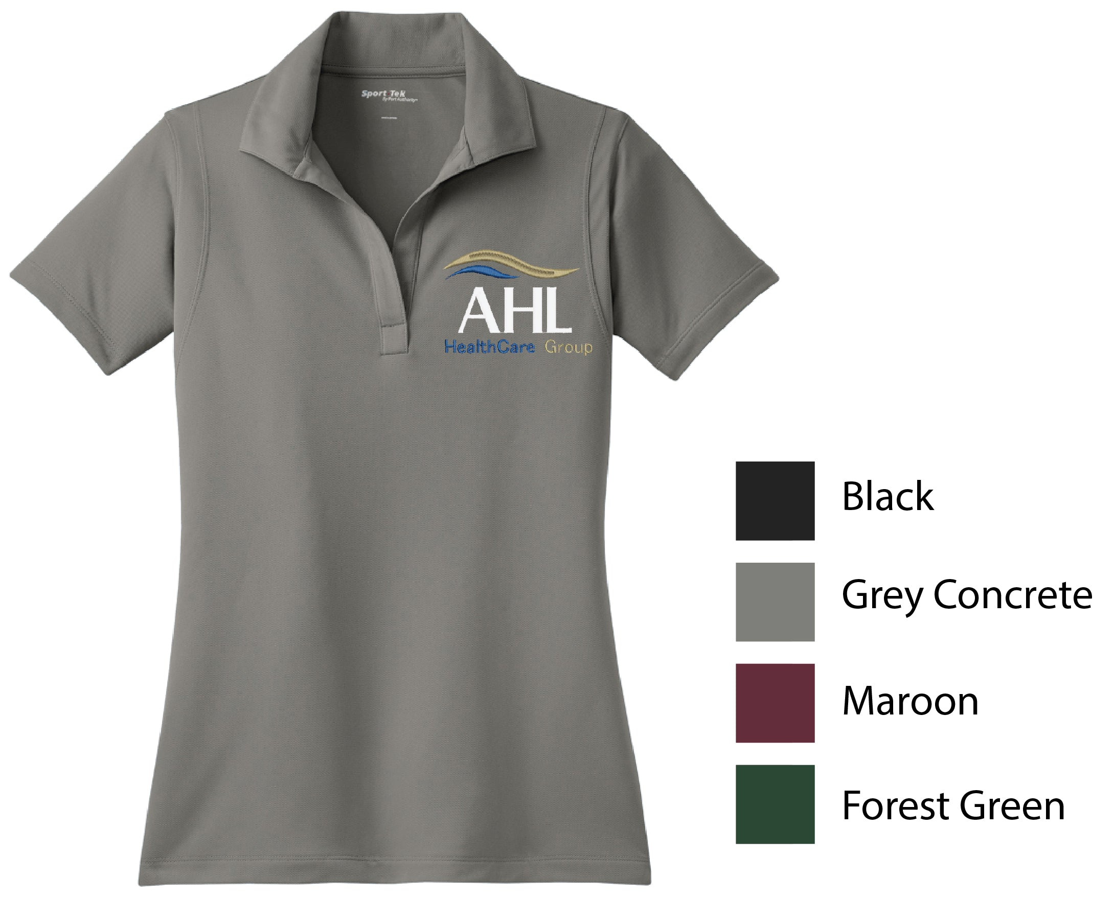C-AHL ) STYLE # LST650 LADIES  POLYESTER SPORT TEK POLOS