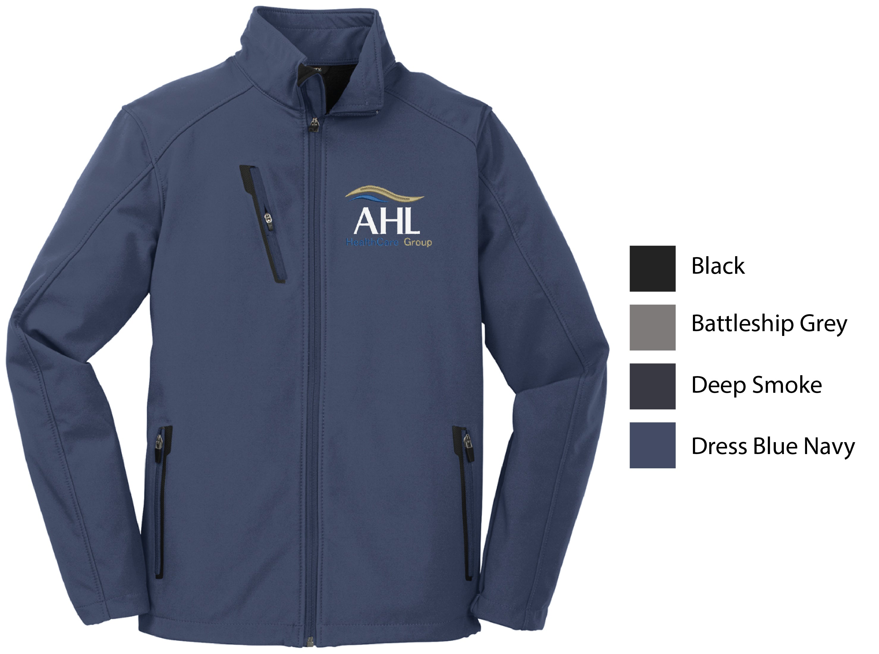 D-AHL ) STYLE# J324 MENS WELDED SOFTSHELL JACKETS