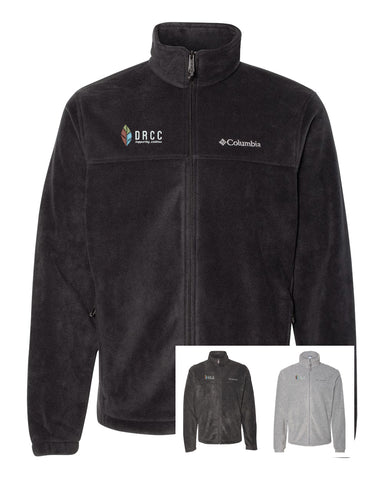 A1) MENS & LADIES FULL ZIP  COLUMBIA FLEECE JACKETS