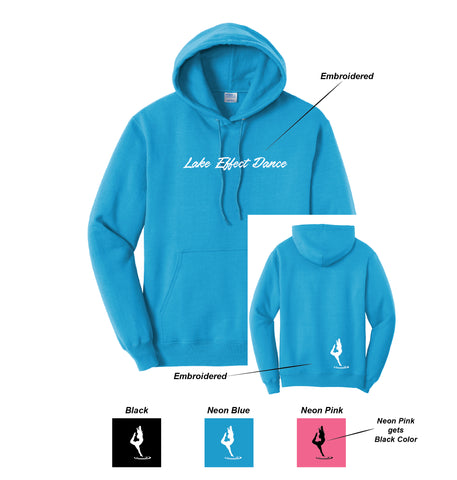 C ) ADULT AND YOUTH HOODED SWEATSHIRTS