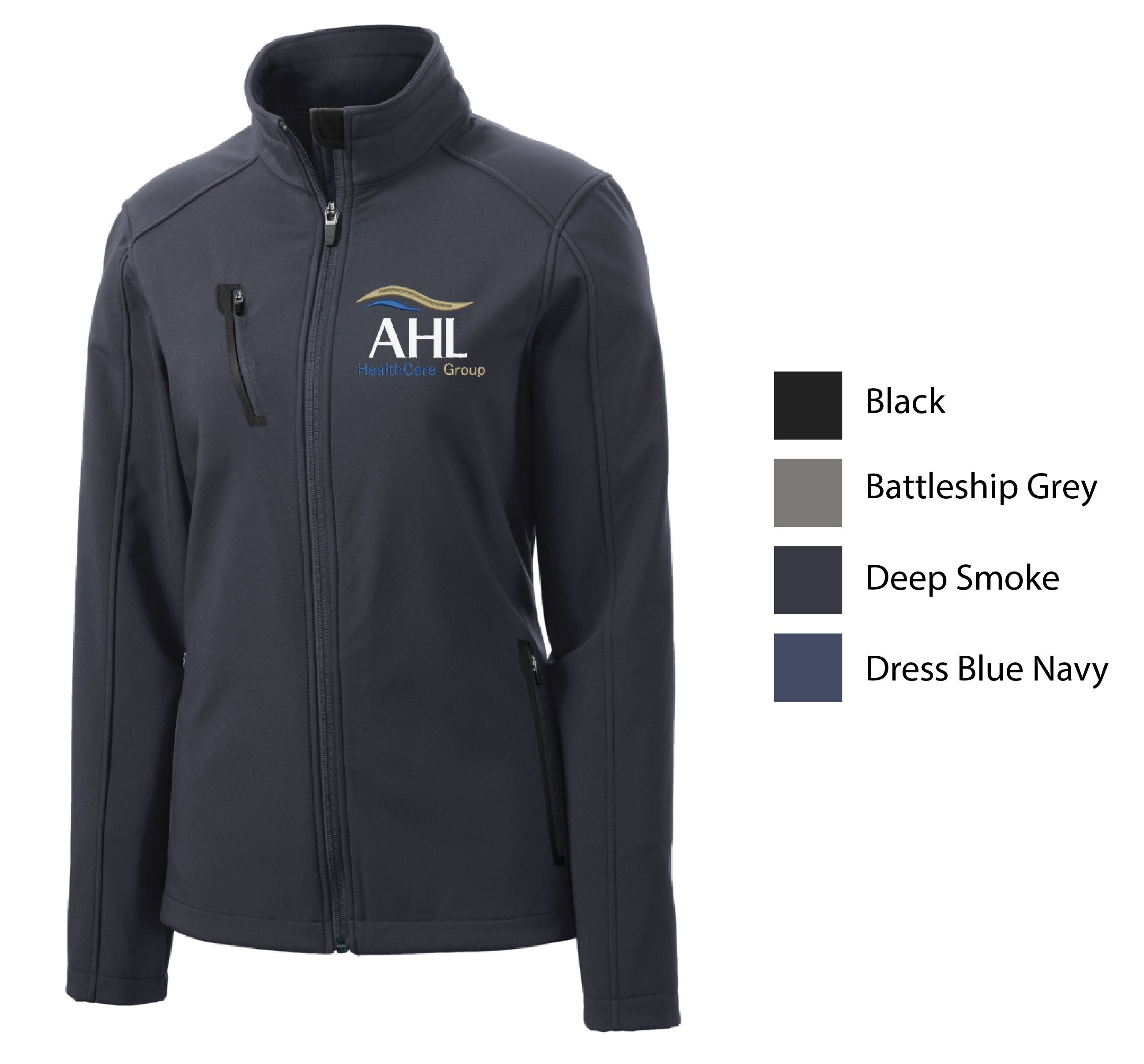 E-AHL ) STYLE# L324 LADIES WELDED SOFTSHELL JACKETS