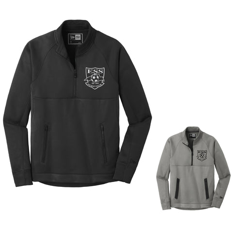 ESS B) * NEW ITEM * MENS NEW ERA  FLEECE 1/4 ZIP PULLOVER