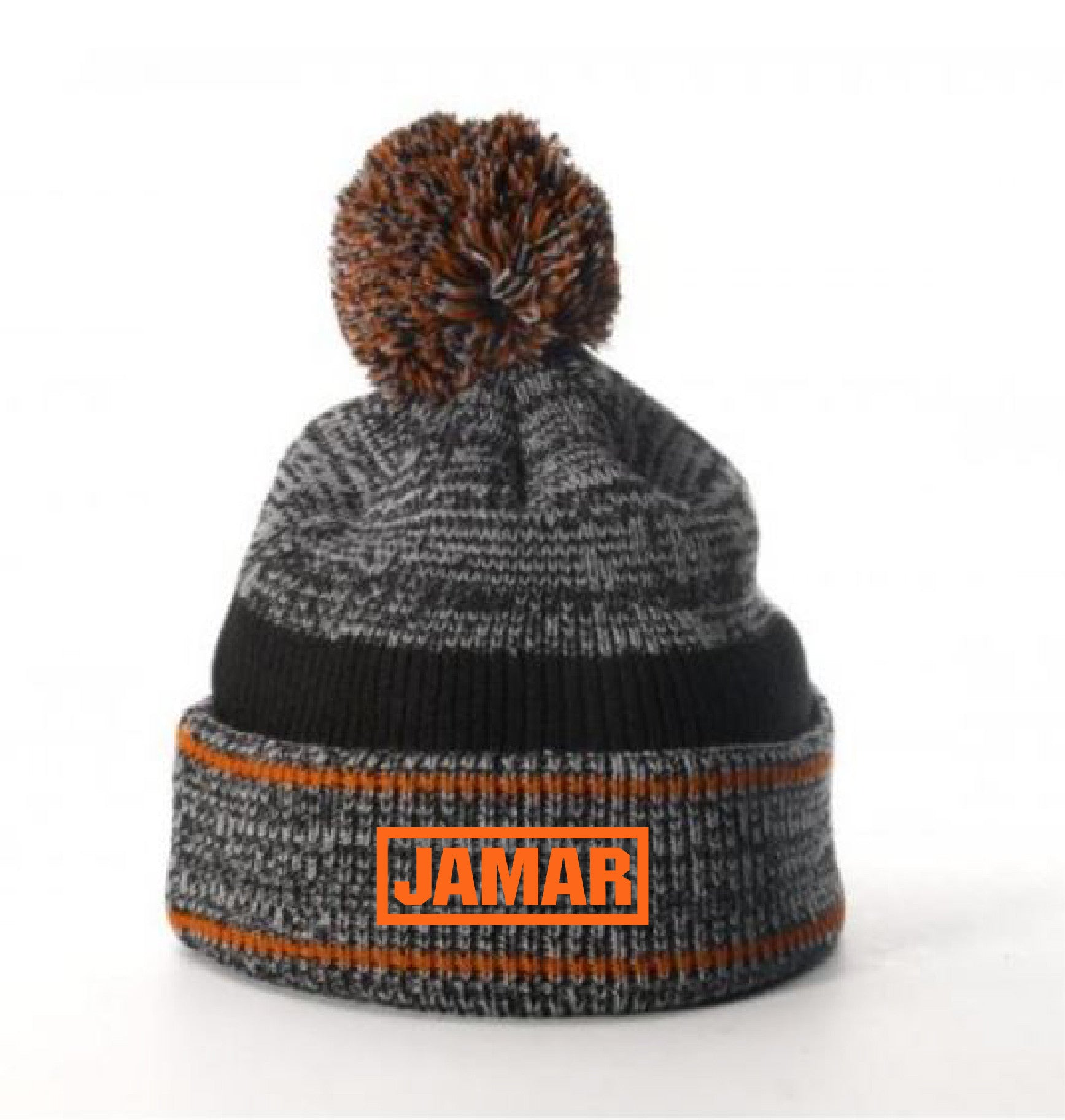 G ) #148 RICHARDSON  HEATHERED POM BEANIE