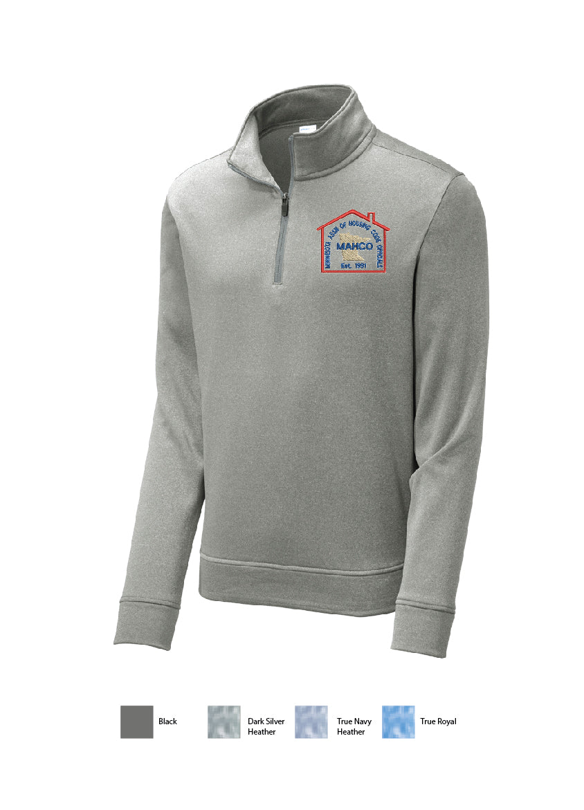 E) STYLE# ST263 SPORT TEK POSI CHARGE 1/4 ZIP PULLOVER