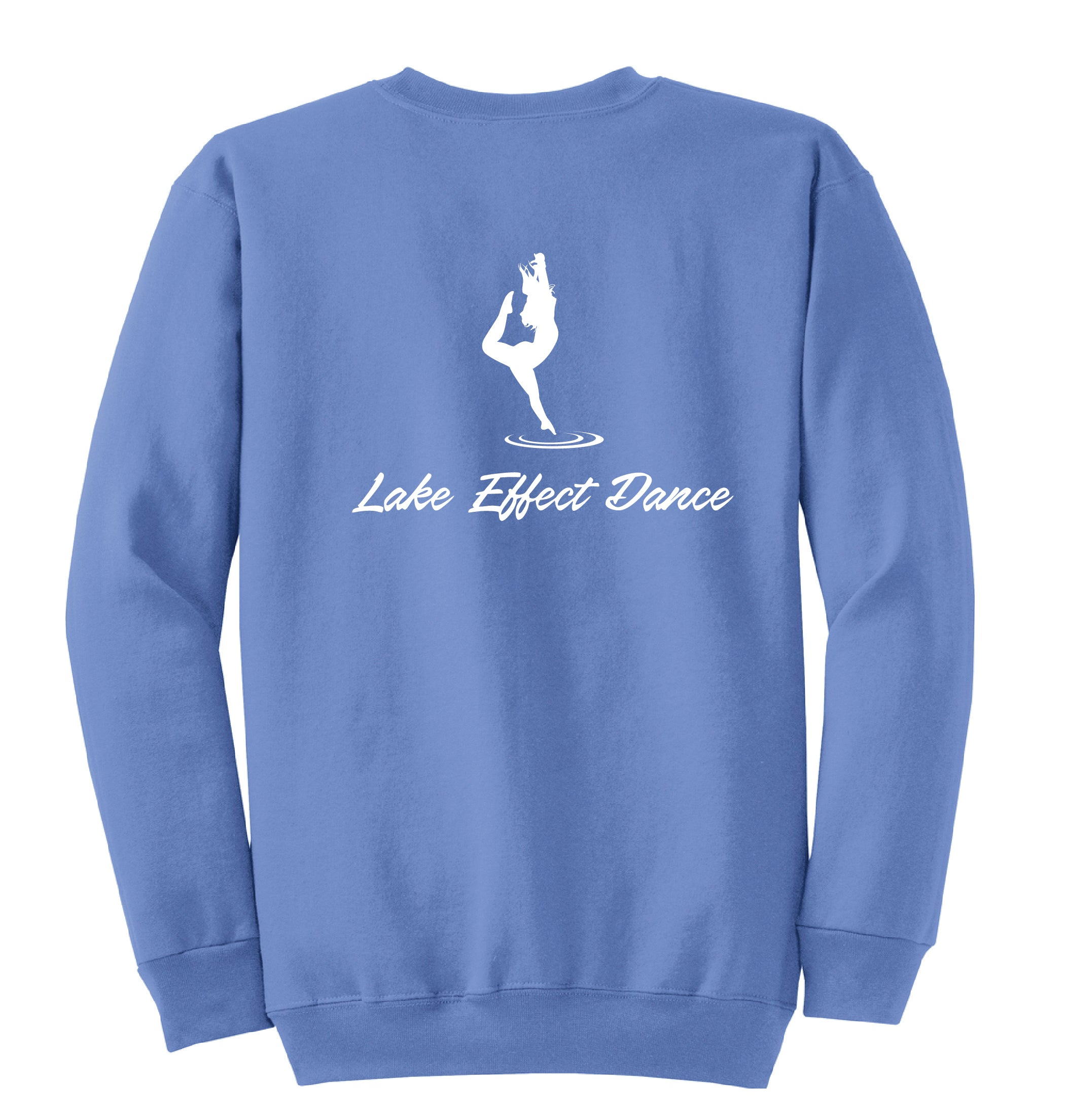 A) ADULT & YOUTH CREW NECK SWEATSHIRTS