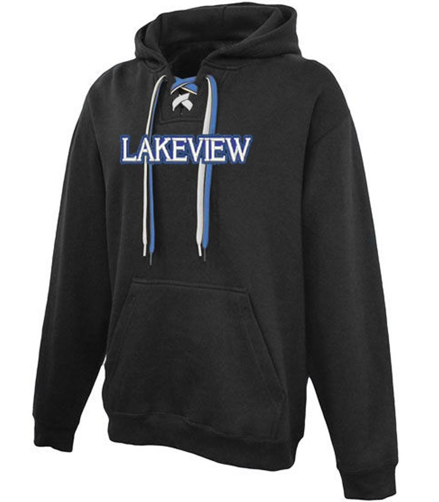 A) STYLE # 715 LACED HOODED SWEATSHIRTS