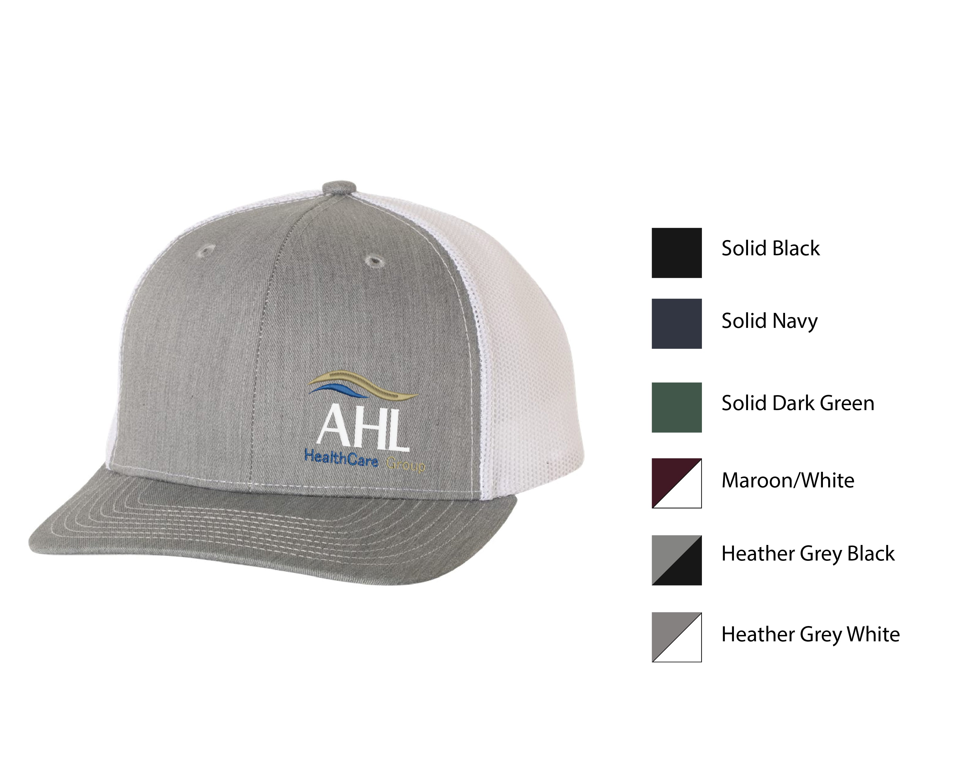 Q-AHL ) #112 RICHARDSON MESH BACK TRUCKER CAPS