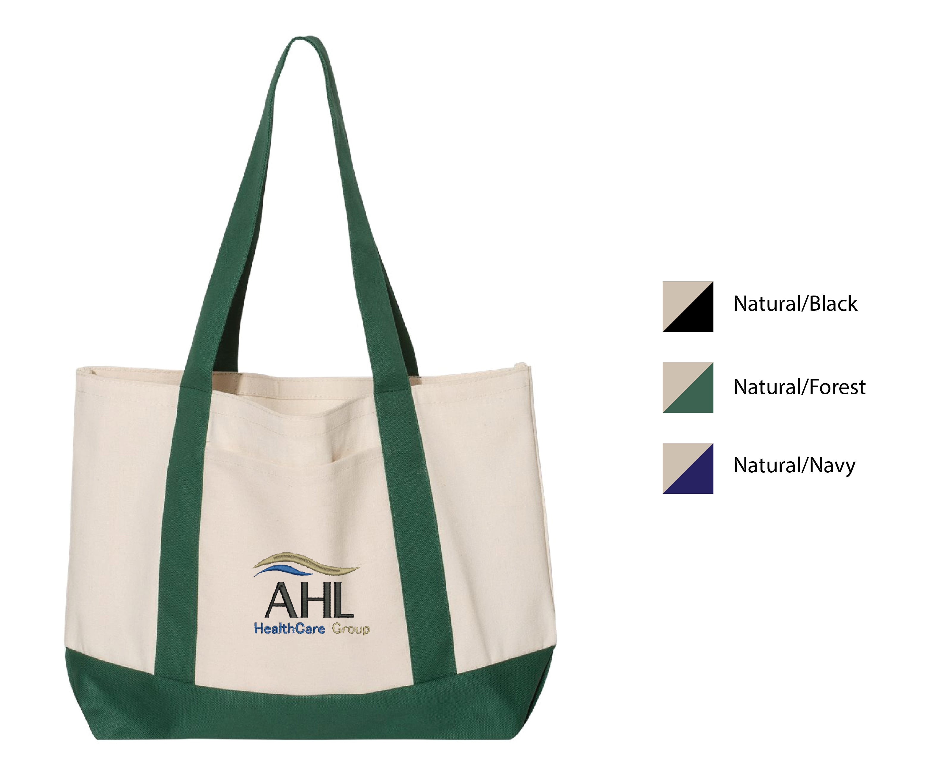 R-AHL ) #7769 LIBERTY BAGS BOATER TOTE