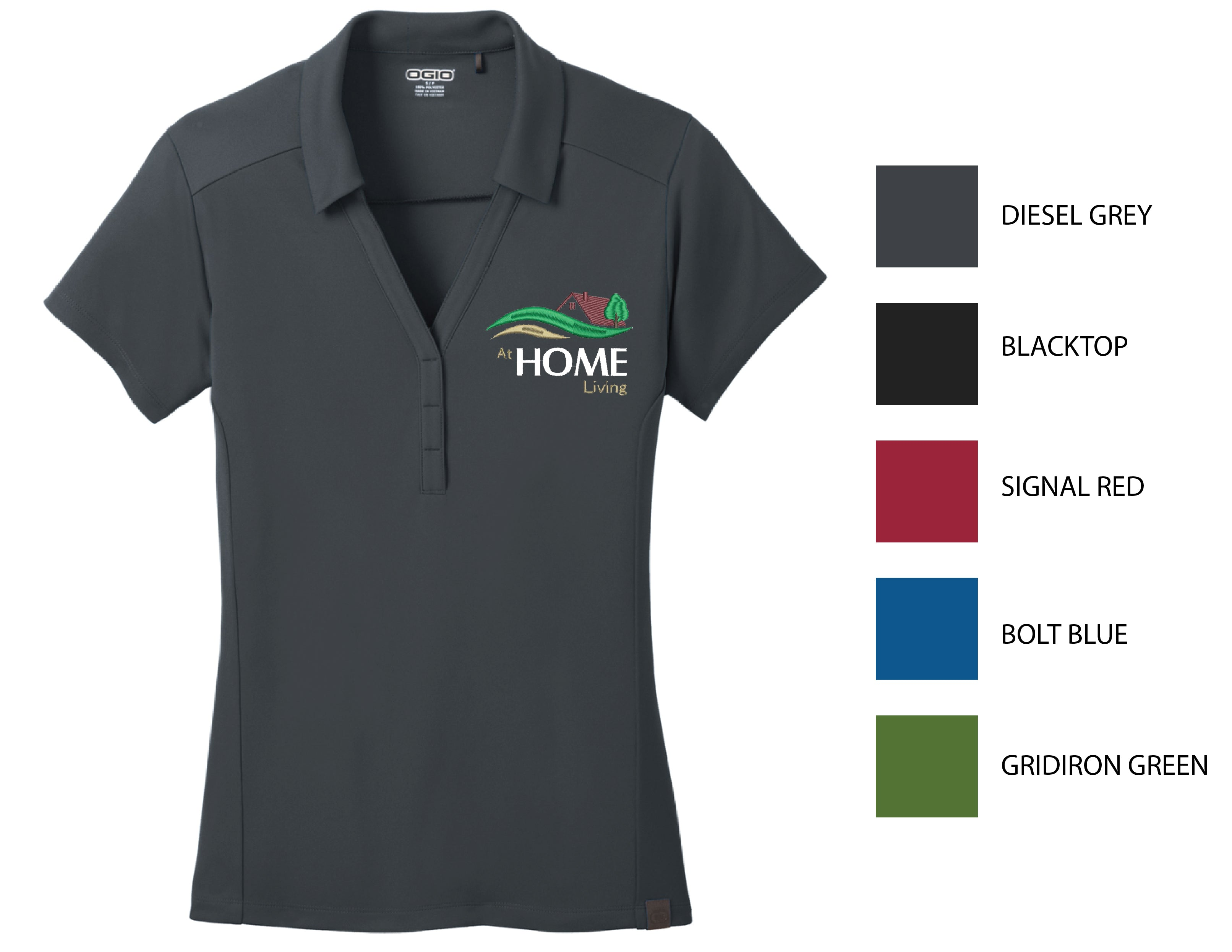 A3-HOME ) STYLE#LOG125 LADIES OGIO POLOS