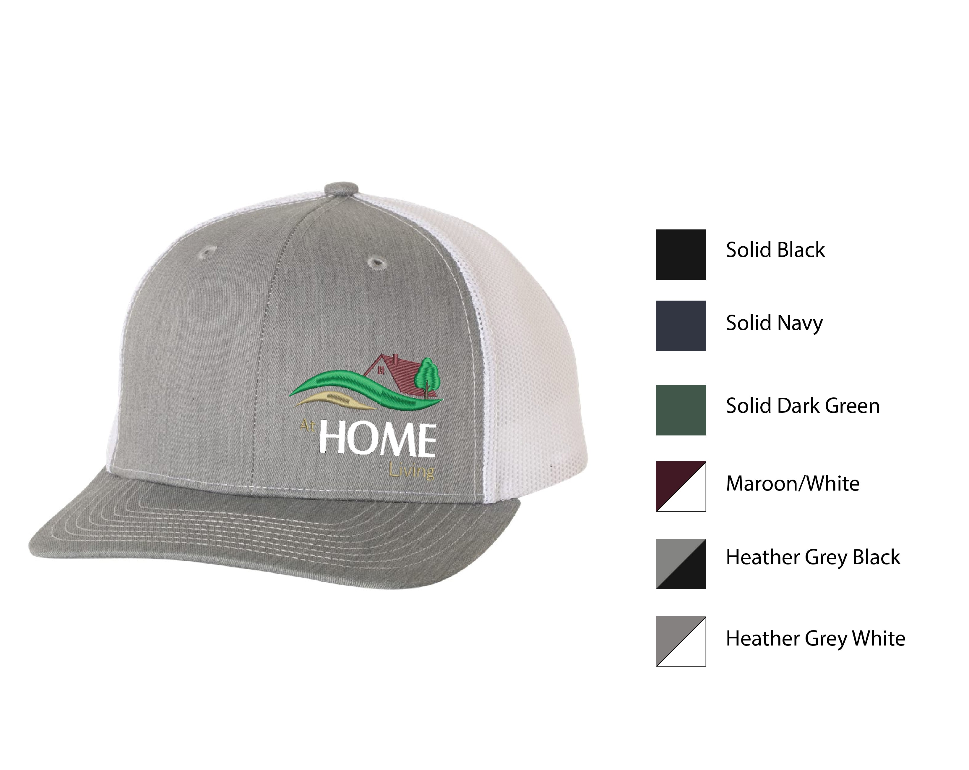 Q-HOME ) #112 RICHARDSON MESH BACK TRUCKER CAPS