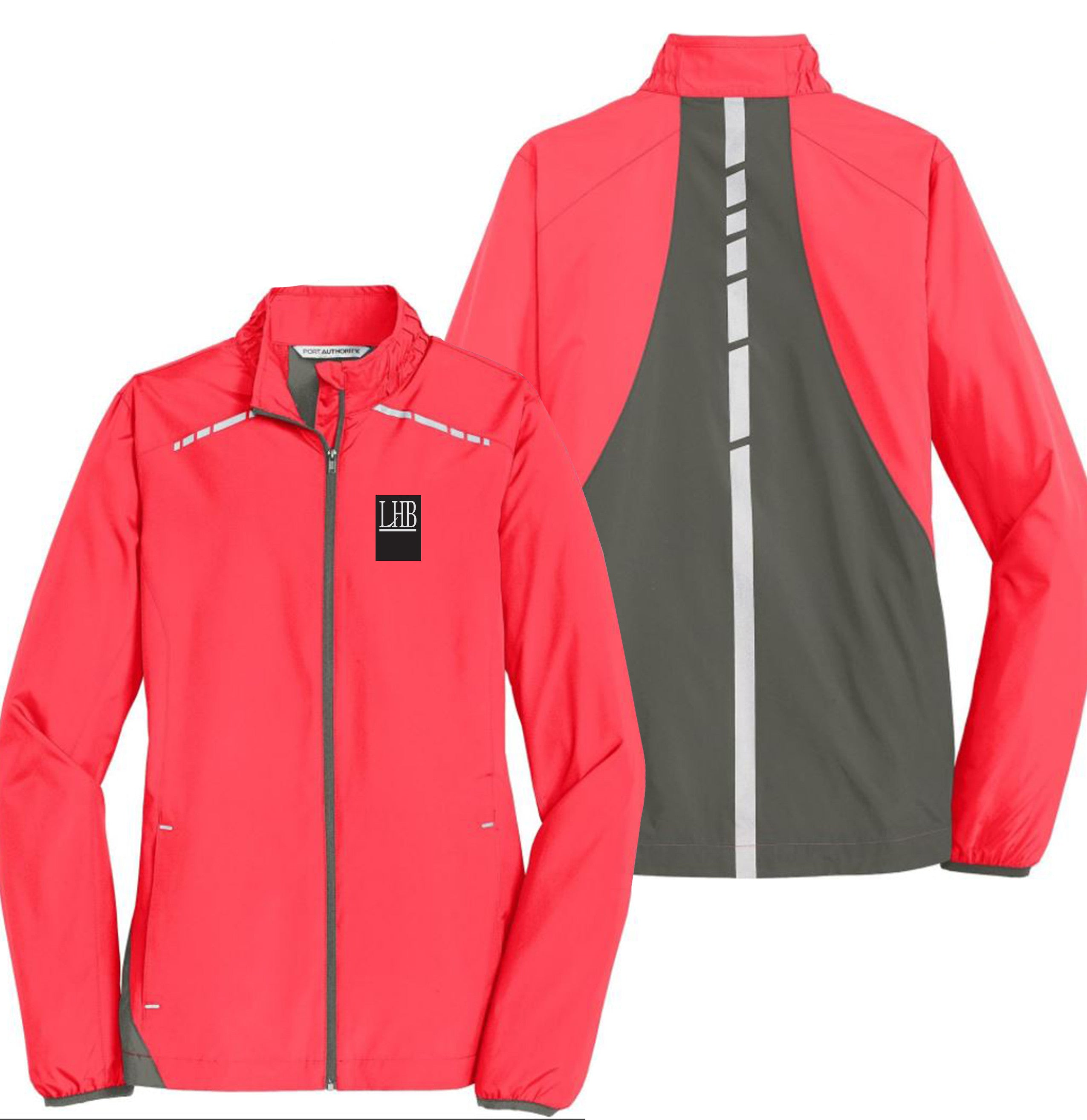 Port Authority® Zephyr Reflective Hit Full-Zip Jacket - Mens/Ladies