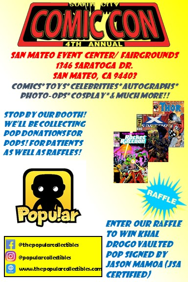 Join us at South City Comic Con (Sept 15, 2019)