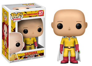 Funko Pop! Animation: One Punch Man - Saitama #257 - Popu!ar Collectibles