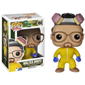 Funko Pop! Television: Breaking Bad - Walter White (Haz Mat Suit) #160 - Popu!ar Collectibles