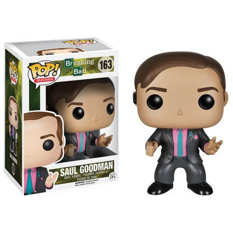 Funko Pop! Television: Breaking Bad - Saul Goodman #163 - Popular Collectibles | Popu!ar Collectibles