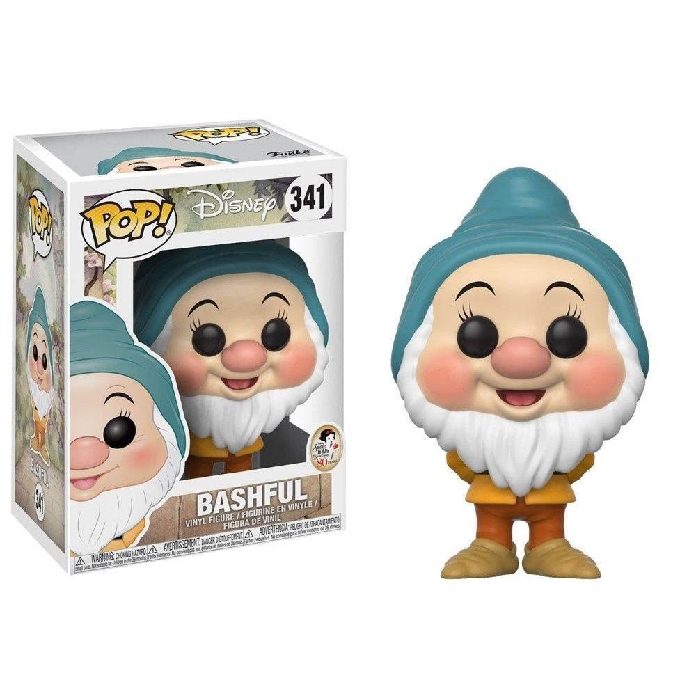 Funko Pop! Disney: Bashful #341 - Popu!ar Collectibles