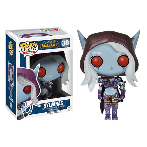 Funko Pop! Games: World of Warcraft - Sylvanas #30 - Popu!ar Collectibles