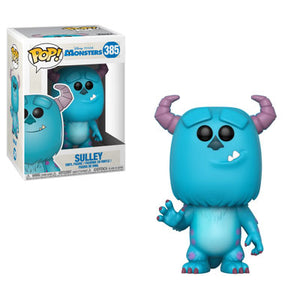 Funko Pop! Disney: Monster's Inc. (Waving) - Sulley #385 - Popu!ar Collectibles