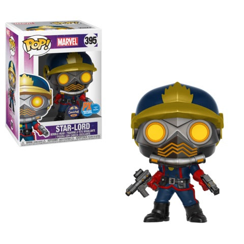 Funko Pop! Marvel: Star-Lord (Classic) (Previews Exclusive) #395 - Popu!ar Collectibles