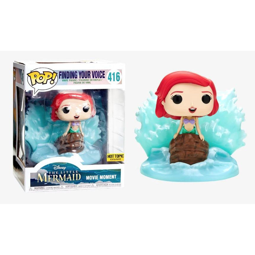 Funko Pop! Disney: Ariel (Finding Your Voice) (Hot Topic Exclusive) #416 - Popu!ar Collectibles