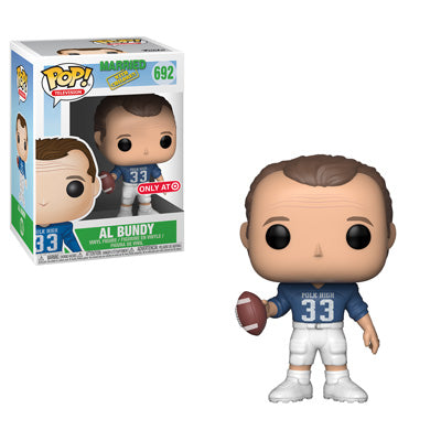 Funko Pop! Television: Married with Children - Al Bundy (Polk High) (Target Exclusive) #692 - Popu!ar Collectibles