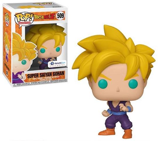 Funko Pop! Animation: Dragon Ball Z - Super Saiyan Gohan (Galactic Toys Exclusive) #509 - Popu!ar Collectibles