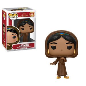 Funko Pop! Disney: Aladdin - Jasmine (Disguised) #477 - Popular Collectibles | Popu!ar Collectibles