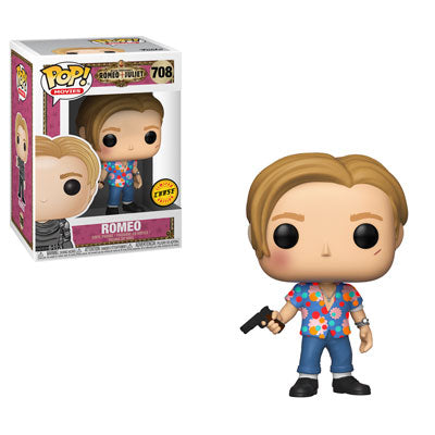 Funko Pop! Movies: Romeo and Juliet - Romeo (Hawaiian Shirt) (Chase) #708 - Popu!ar Collectibles