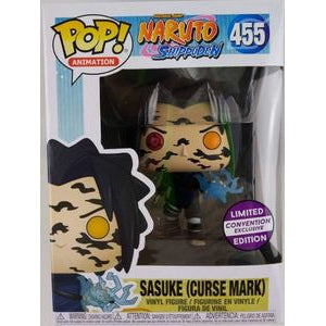 Funko Pop! Animation: Naruto - Sasuke (Curse Mark) (Limited Convention Exclusive) #455 - Popu!ar Collectibles