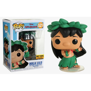 Funko Pop! Disney: Lilo & Stitch - Hula Lilo (Hot Topic Exclusive) #521 - Popu!ar Collectibles