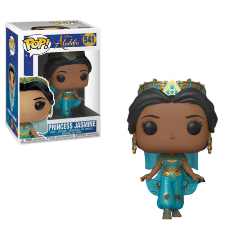 Funko Pop! Disney: Aladdin - Jasmine (Live Action) #541 - Popular Collectibles | Popu!ar Collectibles