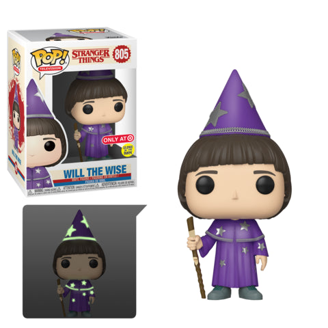 Funko Pop! Television: Stranger Things - Will the Wise (GITD) (Target Exclusive) #805 - Popu!ar Collectibles