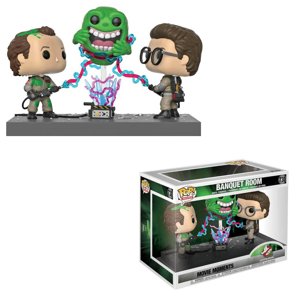 Funko Pop! Movies: Ghostbusters - Banquet Room (Movie Moment) #730 - Popu!ar Collectibles