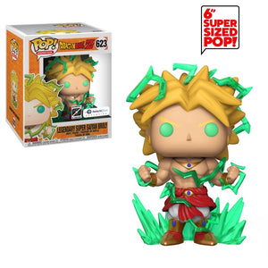 Funko Pop! Animation: Dragon Ball Z - Legendary Super Saiyan Broly (Galactic Toys Exclusive) #623 - Popu!ar Collectibles